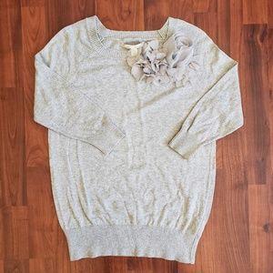 3/$25 LC Lauren Conrad flower detail sweater